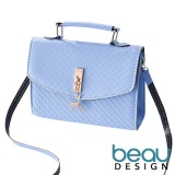Beau Tas Wanita Deer Pu Leather Top Handle Sling Women Bags Asli