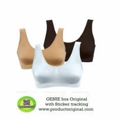 Genie Bra Classic Made In Japan Dilengkapi Sticker Tracking - 1 Pak isi 3 Pcs