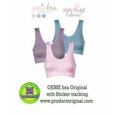 Genie Bra Pastel Made In Japan - 1 Box isi 3 Pcs