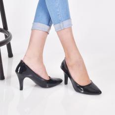 Harga Bebbishoes Della Heels Black