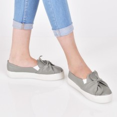Beli Bebbishoes Leaf Slip On Grey Baru