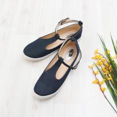 Bebbishoes-Slop Jeans Slip On-Navy