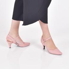 Beli Bebbishoes Talisa Heels Pink Dengan Kartu Kredit