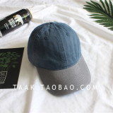 Jual Beli Beberapa Korea Fashion Style Denim Musim Panas Dicuci Topi Baseball Cap Abu Abu Topi Penuh Biru Tiongkok