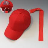 Jual Korea Fashion Style Perempuan Pelindung Sinar Matahari Pita Senam Topi Baseball Topi Cincin Tali Merah