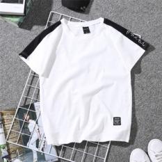 Beberapa Korea Fashion Style Musim Panas Perempuan Lengan Pendek Baru Kaos (Putih)