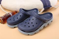 Some Korea Modis Gaya Pijakan Empuk Ikan Hiu Yang Villas Di Pelican Sepatu Berlubang Kebun Bunga Sepatu (Biru Tua warna Sprei