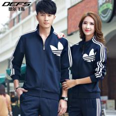 Jual Pinsheng Pakaian Olahraga Luar Ruangan Pasangan Aneka Warna Ukuran Besar Dua Buah Per Set Biru Tua 91 Bagian Branded Original