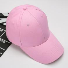Jual Korea Fashion Style Musim Panas Topi Baseball Topi Merah Muda Online Tiongkok