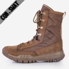 Sepatu Tentara Tinggi Ringan Breathable Pria