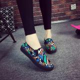 Jual Beijing Oldish Dasar Hitam Bernapas Sepatu Wedges Sepatu Sekolah Hijau Sepatu Wanita Sepatu Sport Sepatu Sneakers Wanita Online