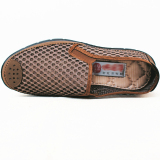 Jual Beijing Tua Model Laki Laki Musim Panas Jala Sepatu Sepatu Kain 501 Warna Kopi Oem Di Tiongkok