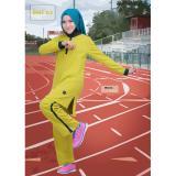 Obral Believe Setelan Bms 02 Baju Olahraga Muslim Kaos Wanita Baju Muslim Kaos Yellow Murah