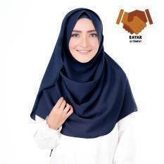 Belle Hijab Kerudung Instan - Navy