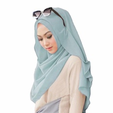 Belle Hijab Kerudung Instan - [Warna Baby Blue]