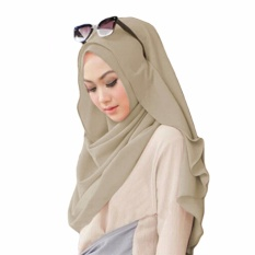 Belle Hijab Kerudung Instan - [Warna Coksu]