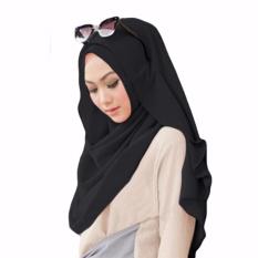 Belle Hijab Kerudung Instan - [Warna Hitam]