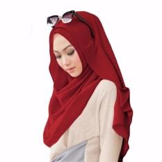 Belle Hijab Kerudung Instan - [Warna Marun]