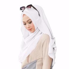 Belle Hijab Kerudung Instan - [Warna Putih]