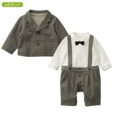 Belle Maison Boy Jumpsuit Coat Korean Casual Suit Lengan Panjang Bayi - Baju Romper Bayi Super Lucu Baju Newborn Baju Pesta Anak Baru Lahir