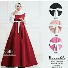 belleza dress (maroon)