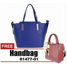 Bellezza 614102-01-Blue -  Handbag - Tas Wanita - BUY 1 GET 1 FREE