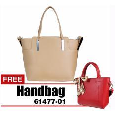 Bellezza 614102-01-Khaki - Handbag - Tas Wanita - BUY 1 GET 1 FREE