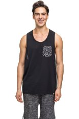 Bellfield Mens Racerback Vest White Indonesia