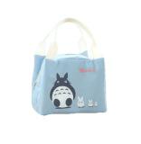 Harga Bellino Lunchbag Tote Thermal Trio Totoro Biru Dan Spesifikasinya