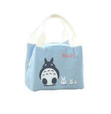 Toko Bellino Lunchbag Tote Thermal Trio Totoro Biru Online