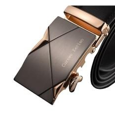 Jual Ikat Pinggang Kulit Import Branded Curewe Kerien Mens Belt Ban Gasper Sabuk Gold Titanium Curewe Kerien Grosir