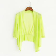 ... Pantai Baju Pelindung Matahari Wanita Model Setengah Panjang Kemeja Pendingin Ruang Kardigan Jaket. IDR 194,000 IDR194000. View Detail. Benang Jaring ...