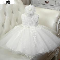 Jual Benang Tutu Ulang Tahun Gaun Gadis Gaun Putih Rompi Putih Rompi Baru