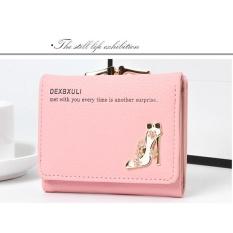 Toko Bencool Baru Lady Pendek Dompet Multi Card Bit Tiga Lipat Dompet Kecil Kartu Pocket Coin Pocket Light Pink Intl Murah Di Tiongkok