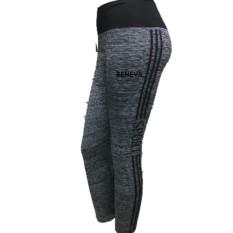 Jual Beneva Celana Legging Abu Abu Celana Sport Wanita Celana Senam Wanita Celana Olah Raga Murah