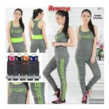 Spesifikasi Beneva Setelan Baju Senam Wanita Setelan Baju Olah Raga Wanita Setelan Fitness Wanita Setelan Gym Wanita Setelan Jogging Wanita Yg Baik