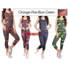 Beneva-setelan baju senam wanita-setelan baju olah raga wanita-setelan fitness wanita-setelan gym wanita-setelan jogging wanita