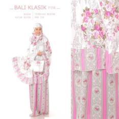 BenOlshop Stelan Mukena Katun Adem Bali Klasik Warna Pink