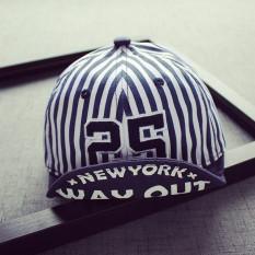 Bergaris baru untuk anak laki-laki dan perempuan topi Baobao bisbol topi ( Disesuaikan 46