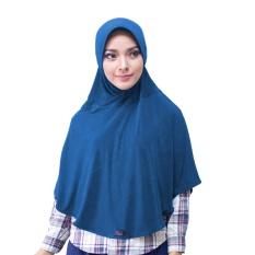 Bergo M Hijab Jilbab Instan Instant - [Warna dongker]
