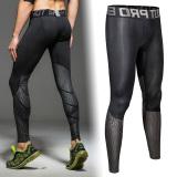 Promo Hangat Reflektif Kata Pelatihan Kebugaran Pakaian Legging Celana Blacksilver Celana