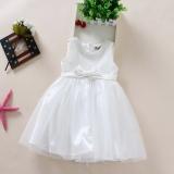 Jual Gaun Beruang Kecil Gadis Gaun Pengantin Anak Anak Anak Kecil Pengapit Putih Online Tiongkok