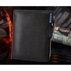 Toko Jual Best Dompet Impor Bogesi 836 Rendah Style Elegan Pria Wanita Clutch Wallet Hitam