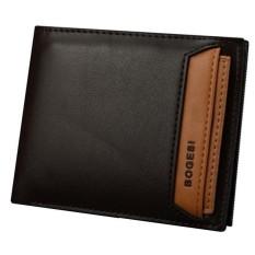 Jual Best Dompet Pria Impor Bogesi 721 Exclusive Korea Style Leather Mens Wallet Coklat Rendah Best Grosir