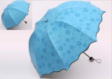 Beli Best Payung Ajaib 3D 3Dimensi 3 Dimensi Ajaib Muncul Motif Jika Basah Biru Best Asli