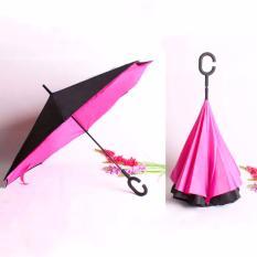 Spesifikasi Best Payung Terbalik Kazbrella 01 Gagang C Reverse Umbrella Payung Lipat Mobil Pink Fanta Yg Baik