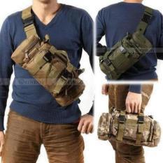 Obral Best Selempang Tactical Army Boom Army Loreng Hijau Murah