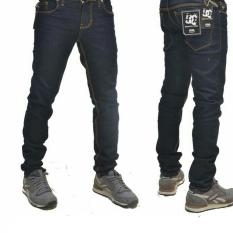 Promo Toko Best Seller Fg Celana Jeans Dc Skinny Pria Biru Hitam