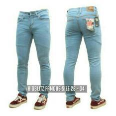 Beli Best Seller Fg Celana Jeans Skinny Pria Bio Blitz Murah Jawa Barat