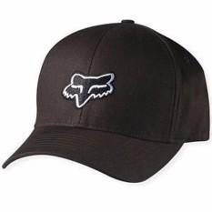 BEST SELLER HAT TOPI FLEX FITTED FOX MOTTOCROSS 010 BLACK Limited Item